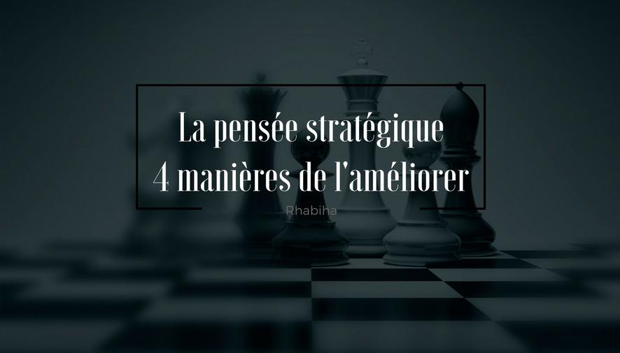 pensée stratégique
