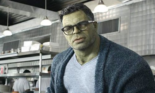 Hulk smiling after he made peace with his anger